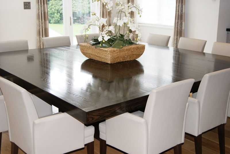 Most Popular Simple Of 12 Seater Square Dining Table Dining Room Table For 12 12 Regarding Square Dining Tables (View 6 of 20)