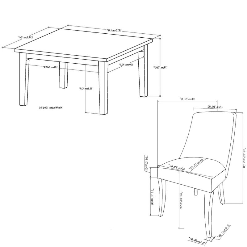 Most Popular Simpli Home Walden 9 Piece Dining Set (View 11 of 20)