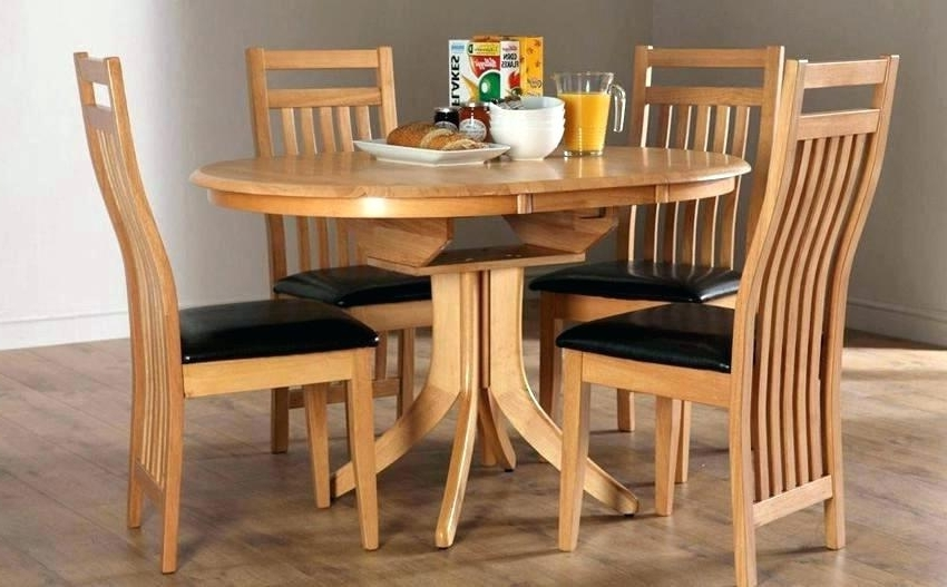 Most Popular Small Extendable Dining Room Table Circular Oak Glass Tables Half Pertaining To Circular Dining Tables (View 10 of 20)