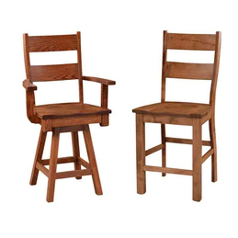 Most Popular Still Fork 242348 Chairs And Stools Norwood 24 Inch Side Bar Chair Pertaining To Norwood Upholstered Side Chairs (View 13 of 20)