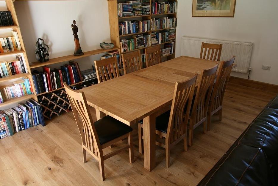 Most Popular Tallinn Oak Dining Sets (View 14 of 20)
