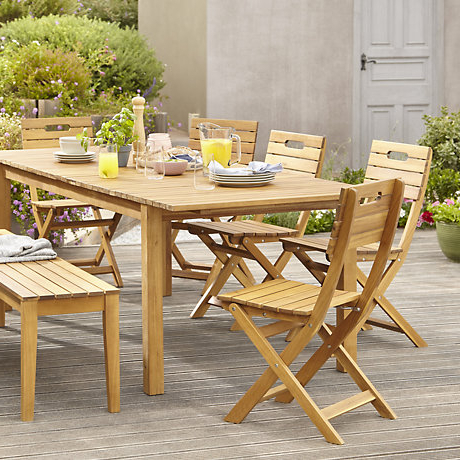 Most Popular Unusual Ideas Design Garden Table And Chairs Furniture Outdoor Denia Pertaining To Garden Dining Tables And Chairs (View 3 of 20)