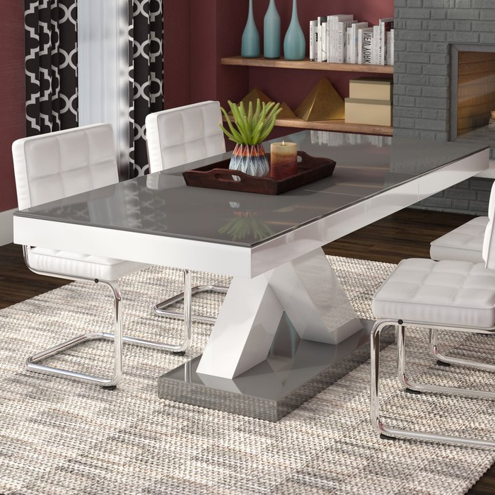 Most Popular Wade Logan Walkersville Leaf Dining Table & Reviews (View 5 of 20)