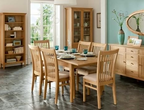Most Popular Willis And Gambier Spirit Dining Table, Oak 4 6 Seater Dining Table Regarding Oak 6 Seater Dining Tables (View 7 of 20)