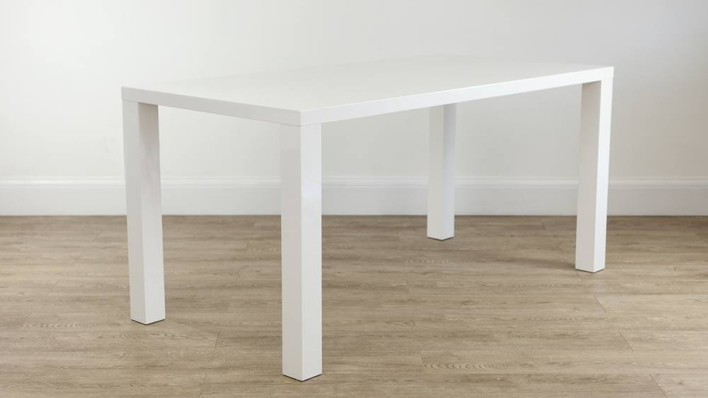 Most Recent 6 Seat Dining Tables Regarding Modern White Hi Gloss 6 Seater Dining Set (View 17 of 20)