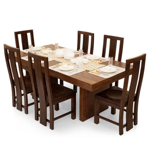 Most Recent 6 Seater Dining Table, Dining Table – Mosi Furniture Industries Throughout 6 Seater Dining Tables (View 2 of 20)