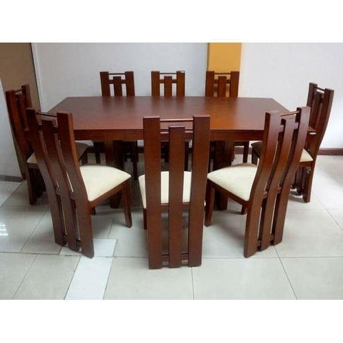 Most Recent 8 Seater Dining Tables And Chairs Inside 8 Seater Dining Table Set, Dining Table Set – Kamal Furniture (View 16 of 20)