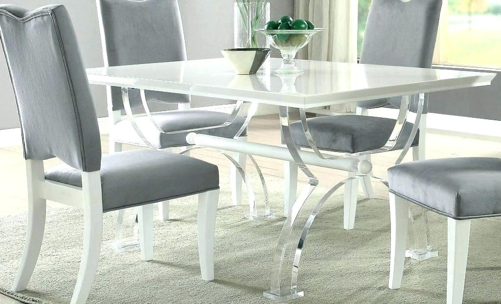 Most Recent Acrylic Dining Room Table Century Furniture Metal Acrylic Dining In Acrylic Dining Tables (View 15 of 20)