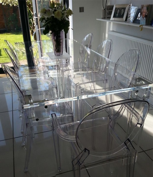 Most Recent Acrylic Dining Tables Regarding This Table Is Almost Crystalline In Its Clarity, Thanks To Versatile (View 5 of 20)