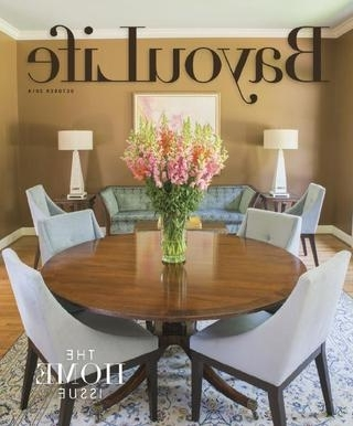 Most Recent Bayoulife October 2014Bayoulife Magazine – Issuu With Bale Rustic Grey 7 Piece Dining Sets With Pearson Grey Side Chairs (View 12 of 20)
