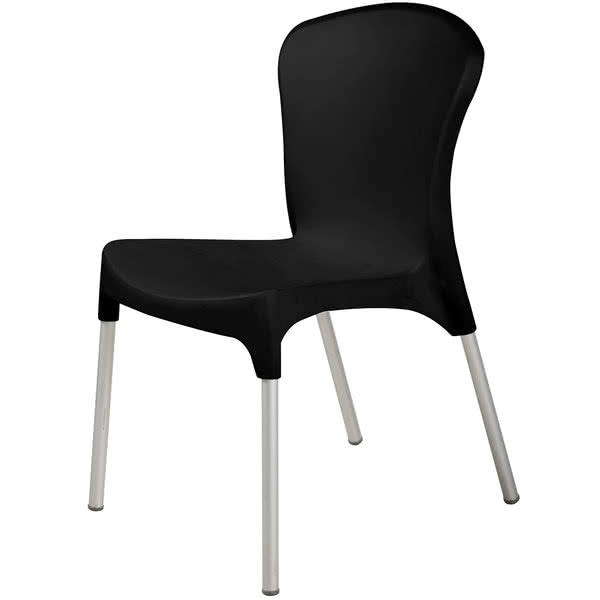 Most Recent Bfm Seating Sa21523Bl Lola Outdoor / Indoor Stackable Resin Side For Lola Side Chairs (View 17 of 20)