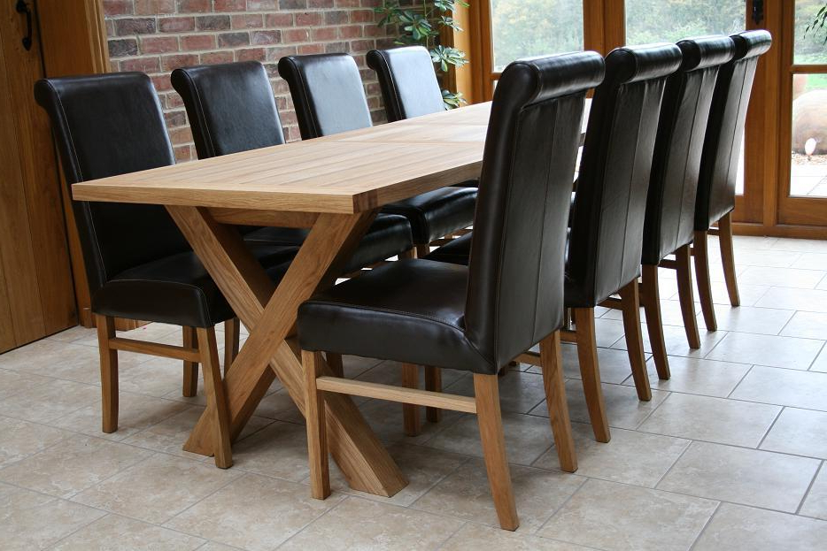 Most Recent Cross Leg Dining Tables (View 11 of 20)