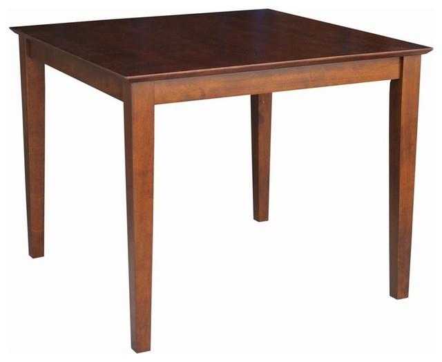 "Most Recent Dawson Table, Espresso, 36"" – Transitional – Dining Tables – Within Dawson Dining Tables (View 16 of 20)"