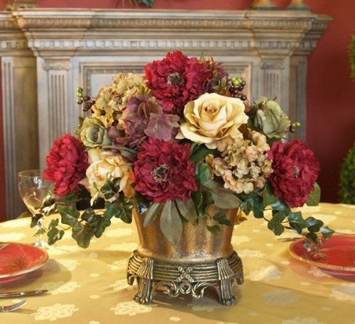 Most Recent Dining Room Table Centerpiece Ideas (View 16 of 20)