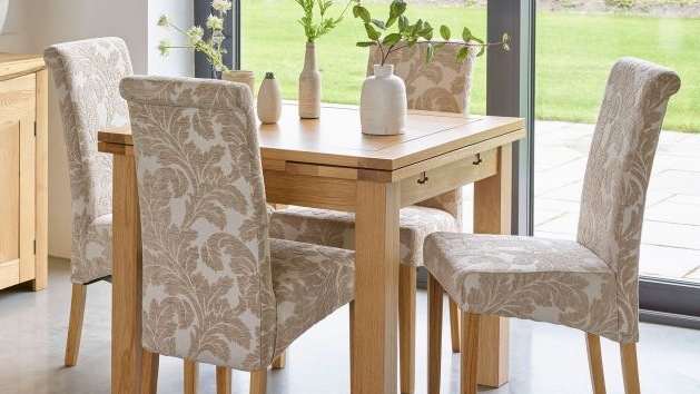 Most Recent Fabric Dining Chairs (View 14 of 20)