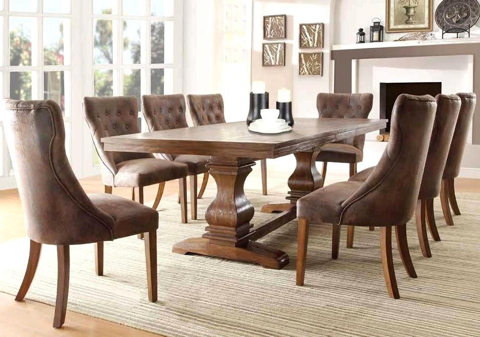 Most Recent Fabric Dining Room Chairs Inside Audacious Modern Cloth Dining Room Chairs Dining Room Sets With (Gallery 10 of 20)