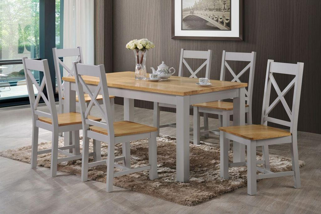 Most Recent Gavin Dining Tables Regarding Rochester Dining Table 5 Ft – Ger Gavin – Bedroom Furniture Dining (View 6 of 20)