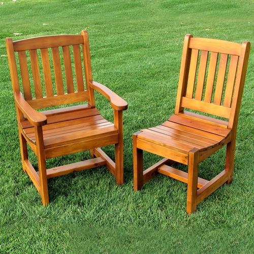 Most Recent Green Cedar Dining Chairs Regarding Cedar Chairs Archives – Cedtek (View 2 of 20)
