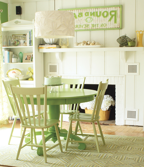 Most Recent Green Dining Tables Throughout Green Dining Room Furniture Beauteous Colorful Dining Tables (View 5 of 20)