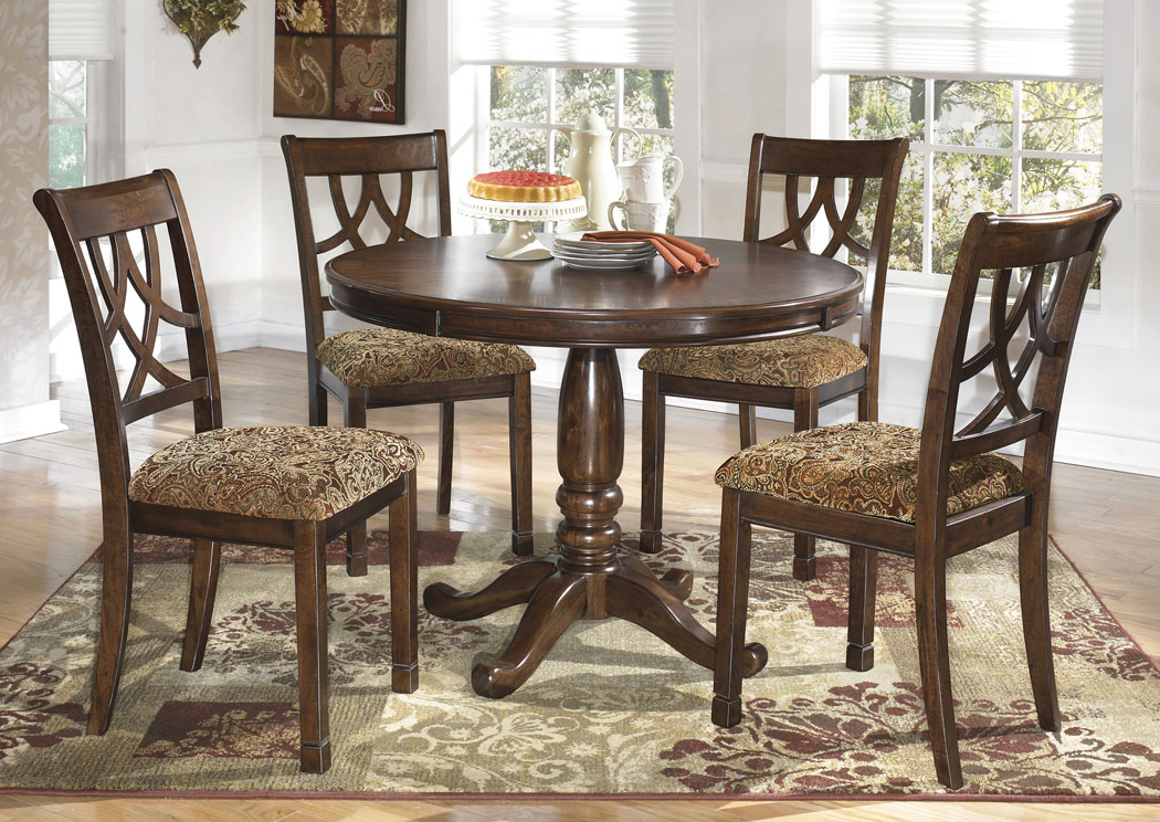 Most Recent Jaxon 5 Piece Round Dining Sets With Upholstered Chairs Inside S&e Furniture – Murfreesboro & Mount Juliet, Tn Leahlyn Round Dining (View 12 of 20)