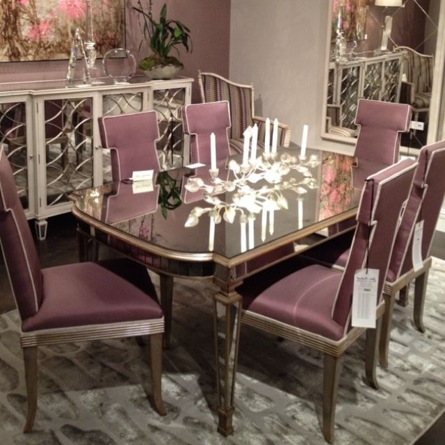 Featured Photo of Antique Mirror Dining Tables