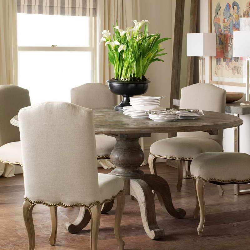 Most Recent Large Circular Dining Tables Inside Large Circular Dining Room Table Dining Room  (View 14 of 20)