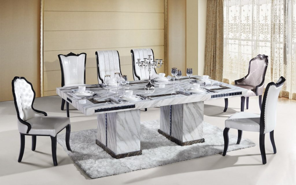 Most Recent Large Marble Dining Room Table Marble Restoration Service With Marble Dining Tables Sets (View 12 of 20)