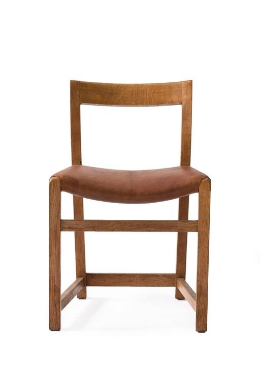 Most Recent Lassen Side Chairs Throughout Rare Mogens Lassen Oak Side Chair, 1934 At 1Stdibs (View 15 of 20)