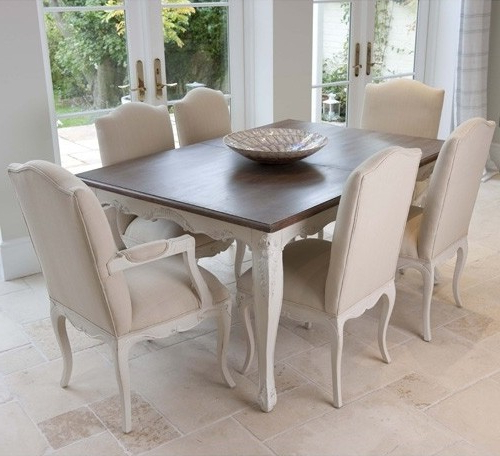 Most Recent Louis French Extendable Dining Table – Crown French Furniture With Regard To Extending Dining Sets (View 15 of 20)