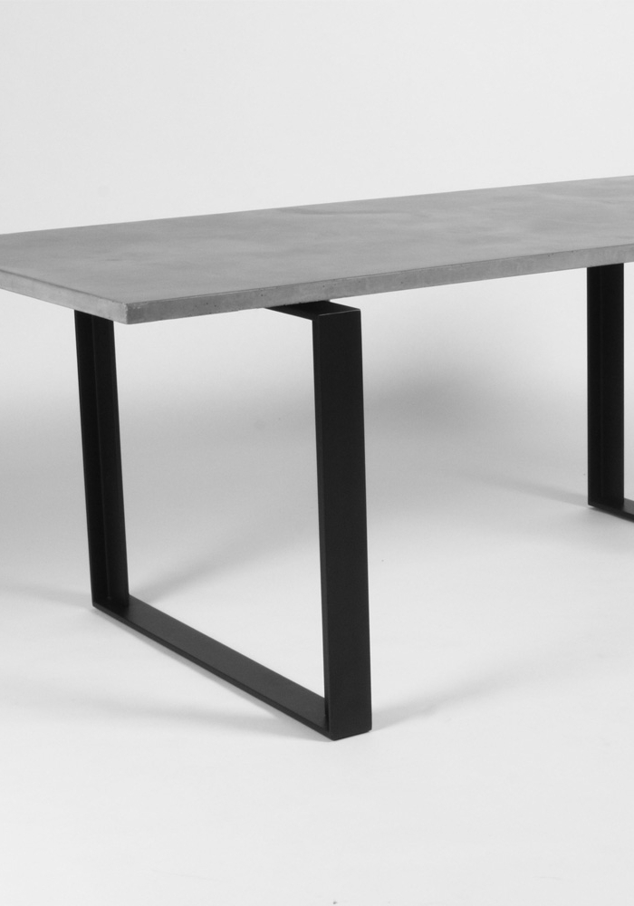 Most Recent Lyon Dining Tables Regarding Alps Concrete Dining Table – Lyon Beton Concrete (View 18 of 20)