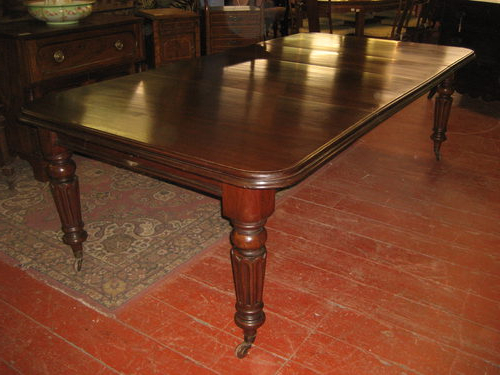 Most Recent Mahogany Extending Dining Tables And Chairs In Victorian Mahogany Extending Dining Table – Antiques Atlas (View 13 of 20)