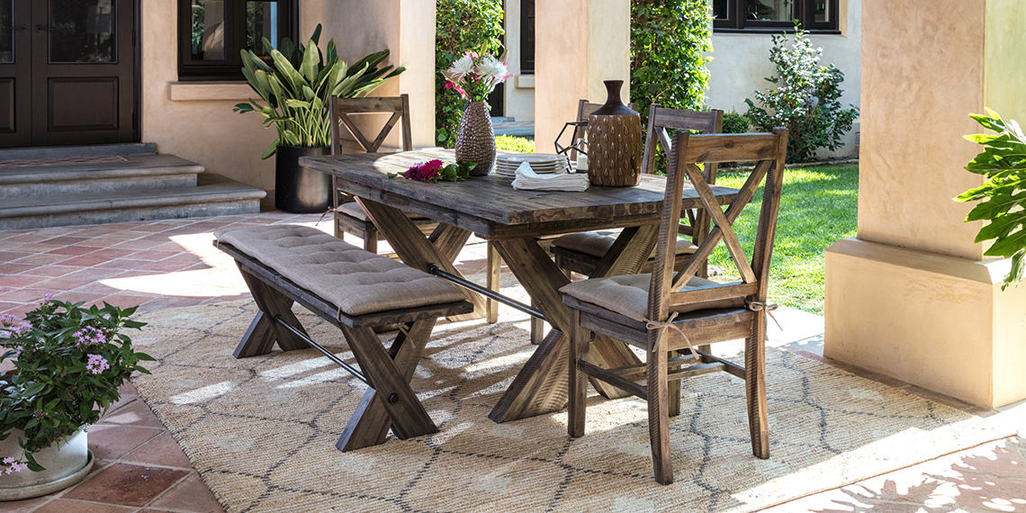 Most Recent Mallard 6 Piece Extension Dining Sets Within Country/rustic Dining Room With Mallard Dining Set (View 16 of 20)