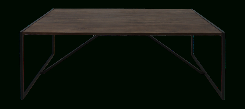 Most Recent Mango Wood/iron Dining Tables For Dining Table – 220X100 Cm – Mango Wood/iron – Antique Finish (View 6 of 20)