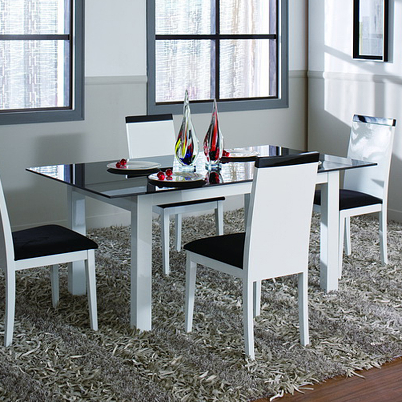 Most Recent Metro Dining Table (White) For Metro Dining Tables (View 10 of 20)