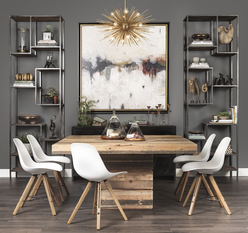 Most Recent Modern Dining Room Sets For 10 Superb Square Dining Table Ideas For A Contemporary Dining Room (View 13 of 20)