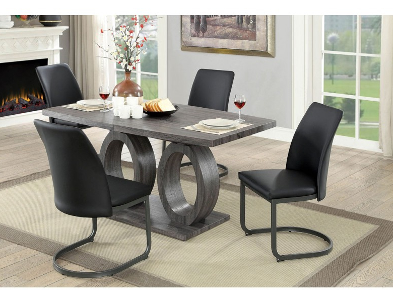 Most Recent Nora Modern Style Dining Table Set Throughout Nora Dining Tables (View 8 of 20)