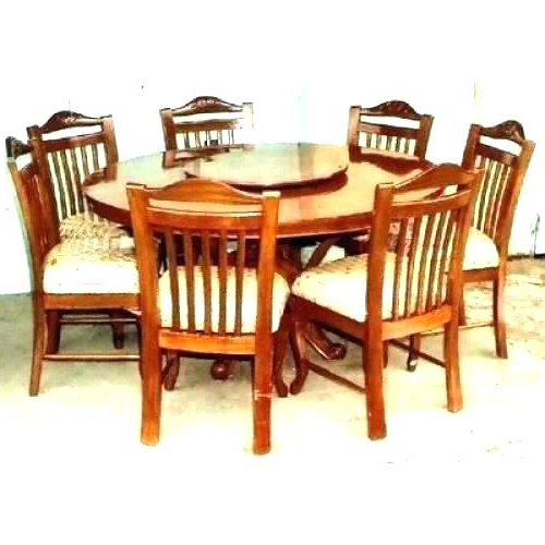 Most Recent Round Dining Table 6 Round Dining Table For 6 Round Dinner Table For With Regard To Round 6 Seater Dining Tables (View 13 of 20)