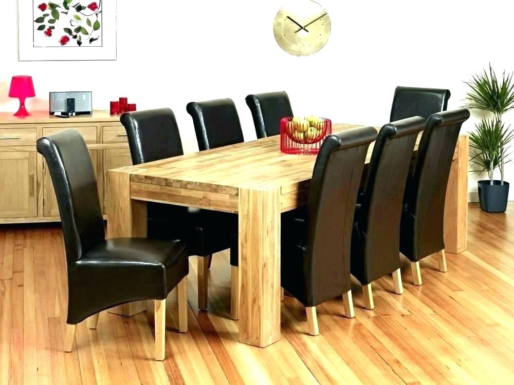 Most Recent Round Dining Table And 8 Chairs Dining Tables 8 Seats Dining Table 8 Inside 8 Seat Dining Tables (View 18 of 20)