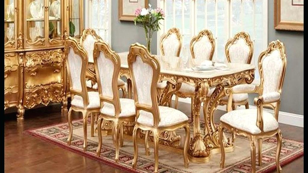 Most Recent Royal Furniture Dining Room Sets 6 Elegant Wood Dining Room Tables Regarding Royal Dining Tables (View 4 of 20)