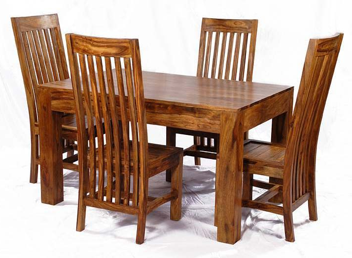 Most Recent Sheesham Dining Tables And Chairs With Sheesham Wood Dining Table Set Manufacturer & Manufacturer From (View 7 of 20)