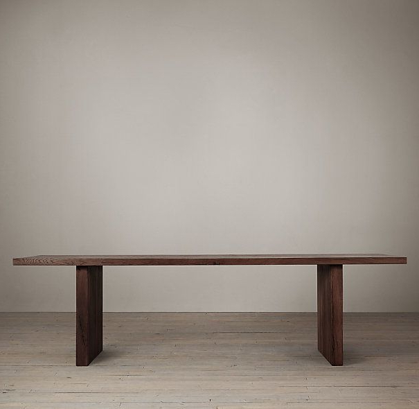 Most Recent Teagan Extension Dining Tables Regarding Pindecor Look Alikes On Restoration Hardware Look Alikes (View 14 of 20)