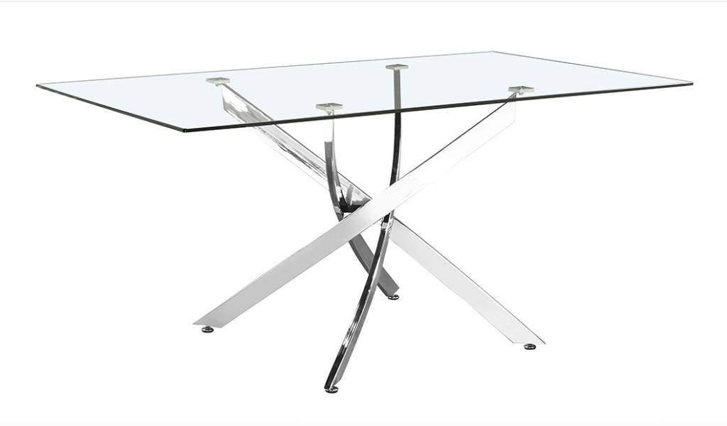 Most Recent Victor Dining Tables Inside Victor Dining Table Regular Size: 63'' X 35'' – Livin Style Furniture (View 9 of 20)