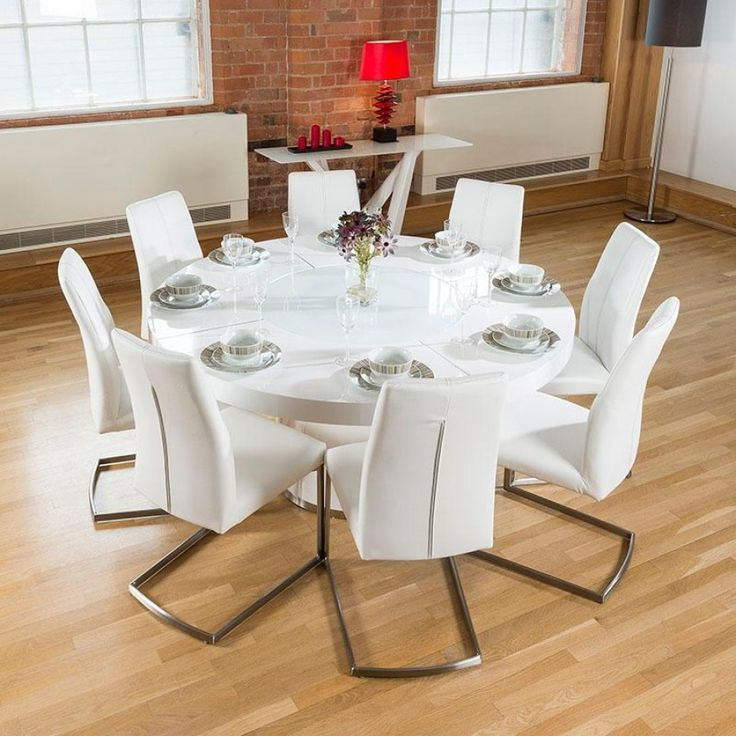 Most Recent White Gloss Dining Tables 140Cm In White Gloss Dining Table 140Cm – Tvs Table (View 7 of 20)