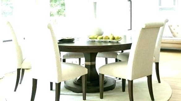 Most Recently Released 6 Person Round Glass Dining Table Round Dining Tables For 6 6 Dining In 6 Person Round Dining Tables (View 16 of 20)