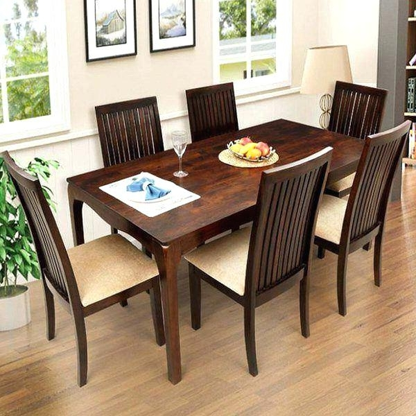 Most Recently Released 6 Seat Dining Table 6 Glass Dining Table And Chairs Best Furniture In 6 Seat Dining Table Sets (View 14 of 20)