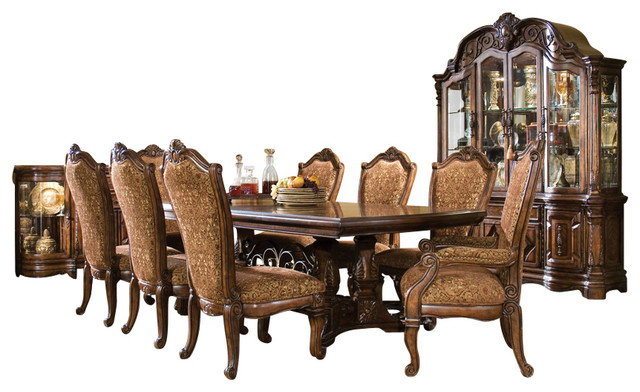 Most Recently Released 7 Piece Windsor Court Rectangular Dining Table Set, Vintage Throughout Rectangular Dining Tables Sets (View 2 of 20)