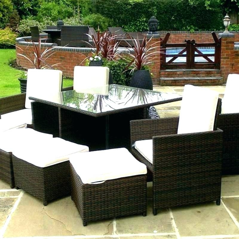 Most Recently Released 8 Seat Outdoor Dining Tables In Outdoor Dining Sets For 8 8 Garden Table 8 Seat Outdoor Dining Table (View 17 of 20)