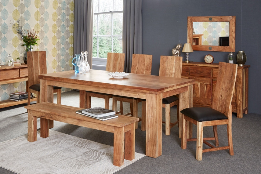 Most Recently Released Acacia Dining Table Home And Furniture (View 8 of 20)