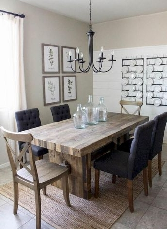Most Recently Released Amos 6 Piece Extension Dining Set With Regard To Amos 6 Piece Extension Dining Sets (View 13 of 20)