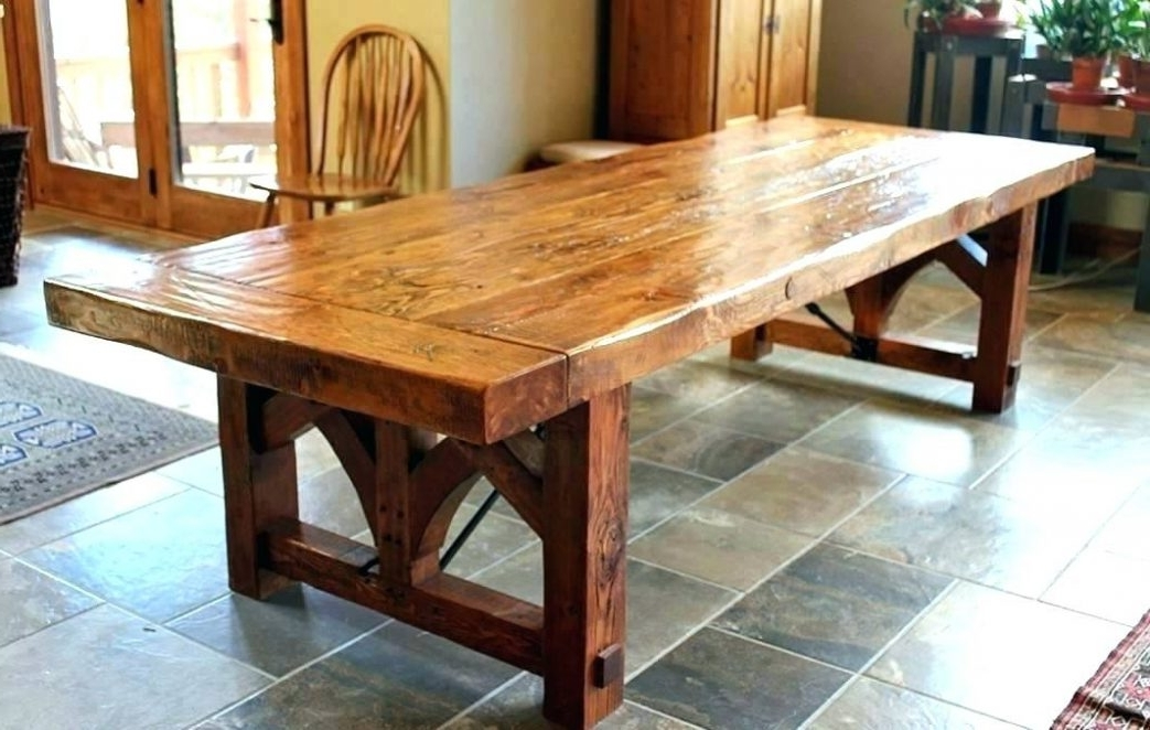 Most Recently Released Big Dining Tables For Sale Within Home Decor : Large Wooden Dining Table Best Garden Furniture (View 14 of 20)